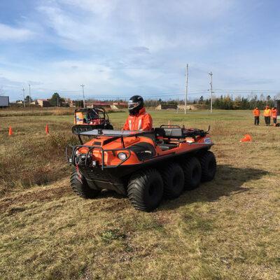 Utility Terrain Vehicle Utv Side By Side Course Canada