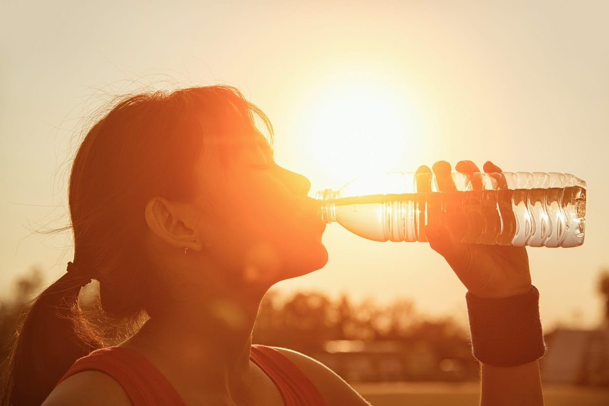 heat stroke can come on quickly without proper hydration